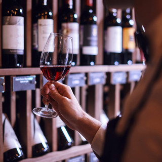 Large Selections of Fine Wine