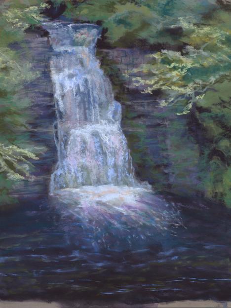 Pocono Waterfall