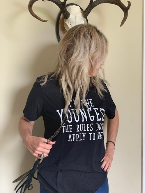 Graphic Tee Youngest