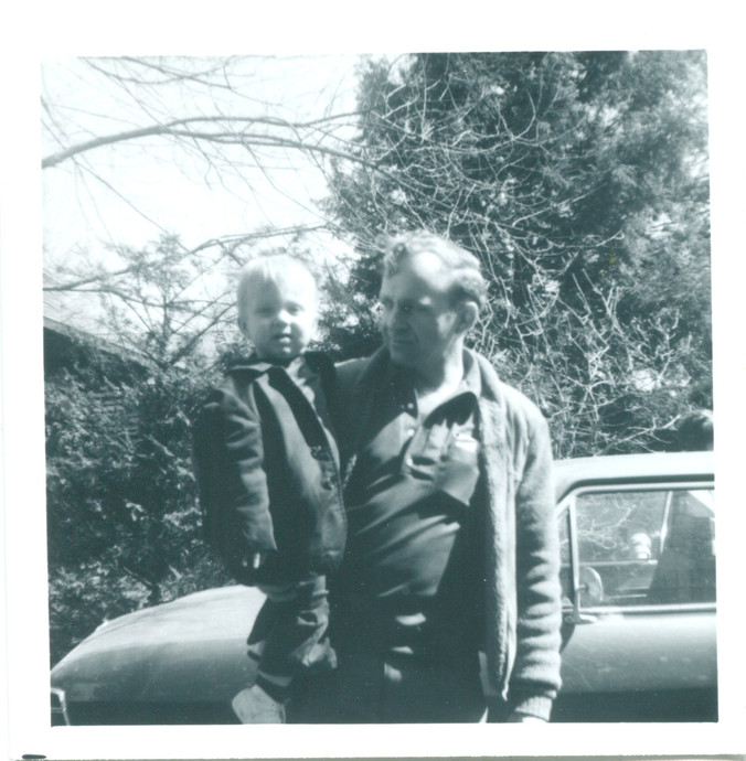 R.W. and son Brad circa 1970