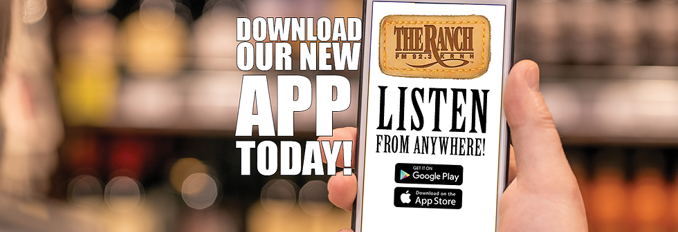 Download the ranch radio app graphic