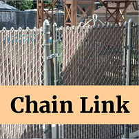 Chain fences