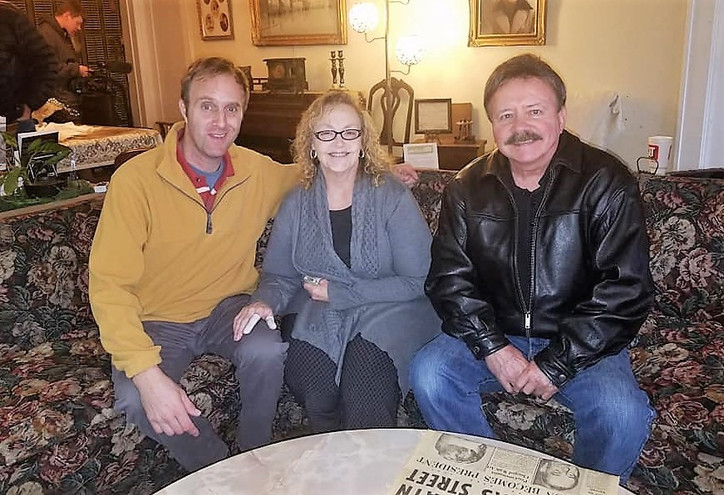 Oswald's Beckly Street Rooming house-Scott Webster, Pat Hall (owner), Author