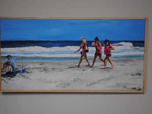 Beach Tag Girls