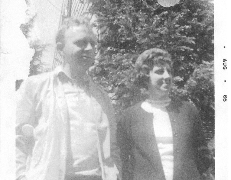 R.W. and 2nd wife Shirley Miller Webster