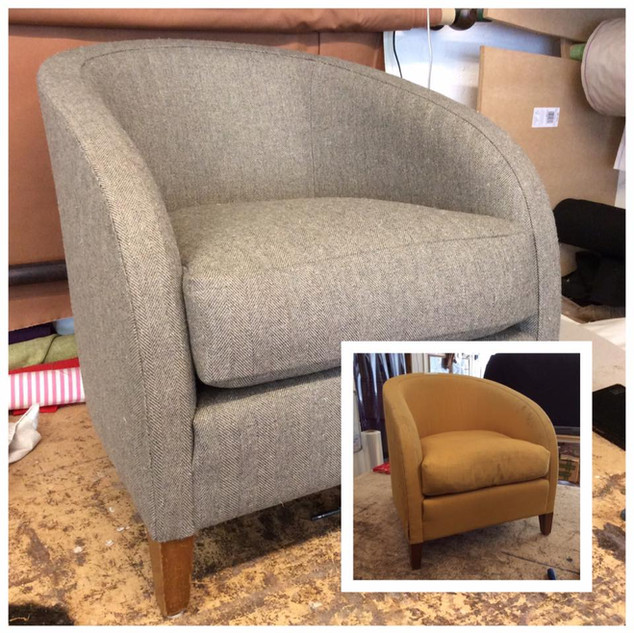 Tub Chair Re-upholstery