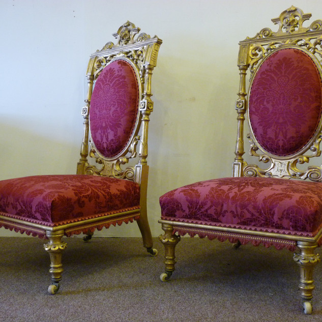 Traditional gold gilded chairs.JPG