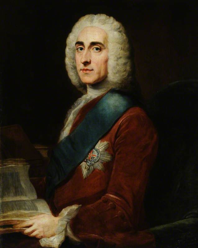Lord Philip Stanhope, the fourth Earl of Chesterfield (1694–1773)