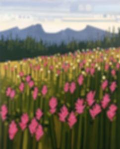 Pink Paintbrushes II 24x30 $1200.jpg