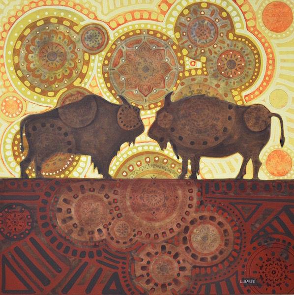 Two Buffalo 30x30 $1400.jpg