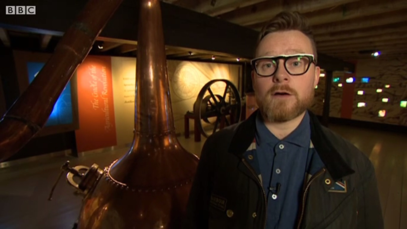 Joel Harrison whisky writer Keeper of the Quaich Presenting on the BBC.jpg