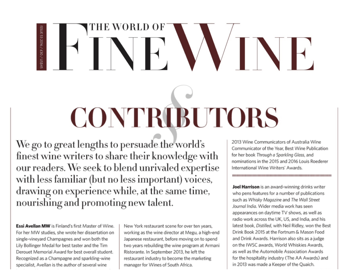 World of Fine Wine