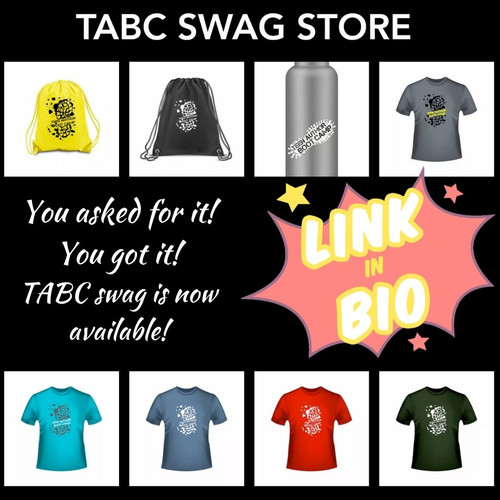 You asked for it! You got it! TABC Swag