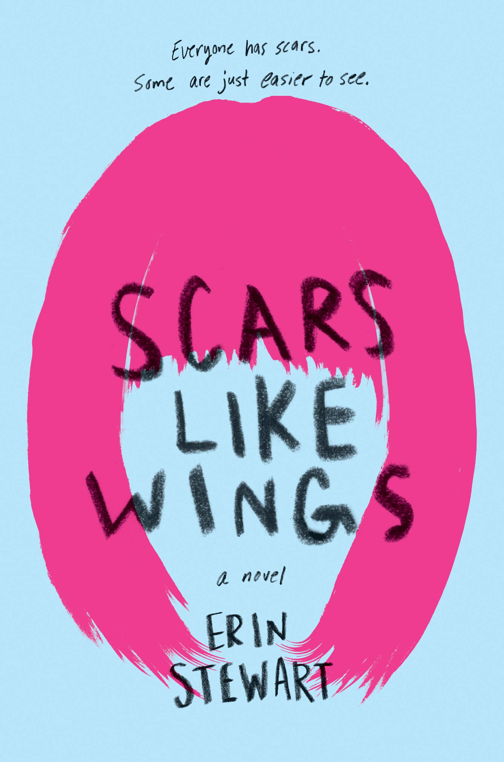 scars like winges