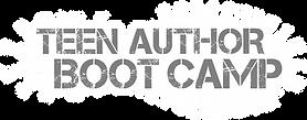 Teen Author Boot Camp NEW LOGO 2020 - gr