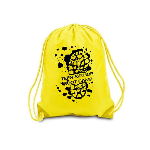 Yellow TABC Drawstring Backpack