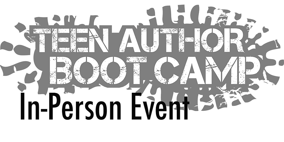 Teen Author Boot Camp IN PERSON Conference