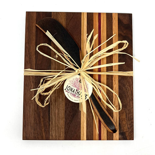 Cheese Board Trivet and Spreader Set