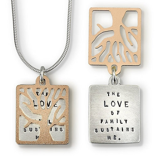 """The Love Of Family"" Necklace"