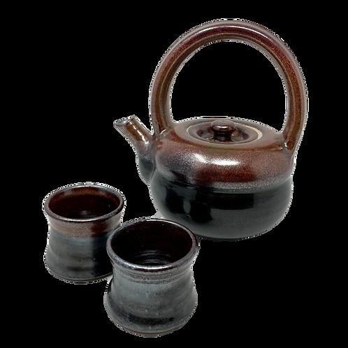 Wally Schwab Tea Pot Set