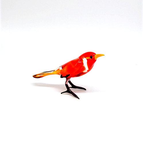 WGK Glass Art - Red Robin