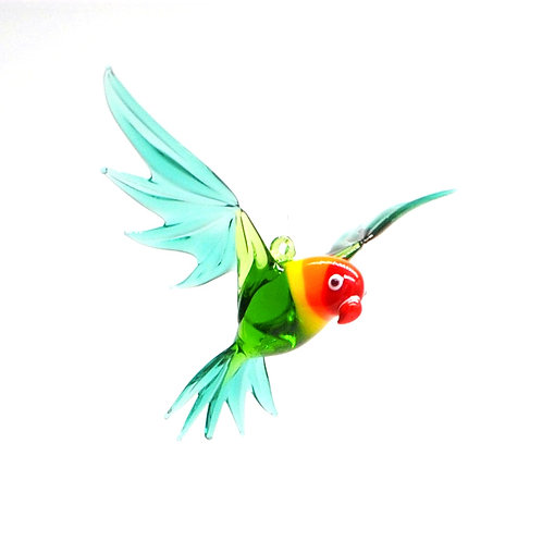 WGK Glass Art - Love Bird