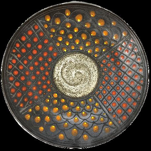 Wally Schwab Ceramic Platter
