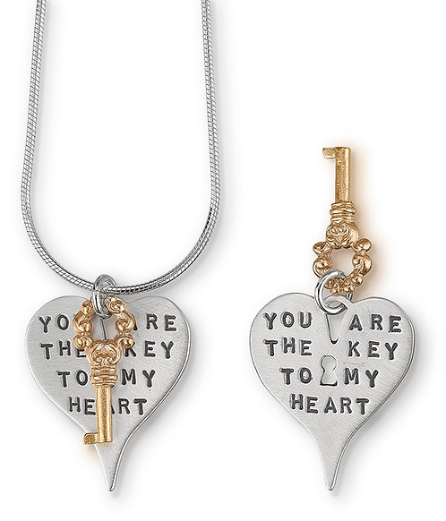 """""""Key to my Heart""""Necklace"""