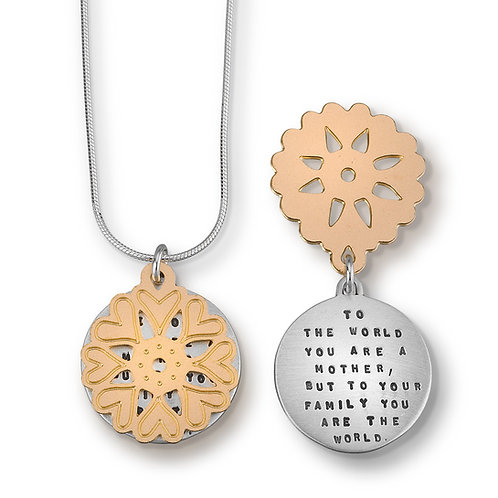 """""""Mother of the World"""" Necklace"""