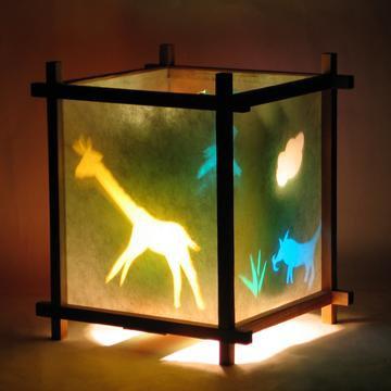 African Animals Lantern