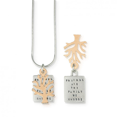 """""""Friends are Family"""" Necklace"""