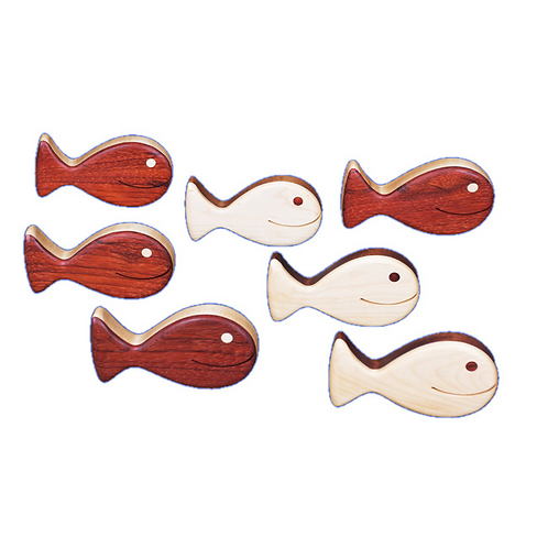 Hardwood Creations Fish Rattle