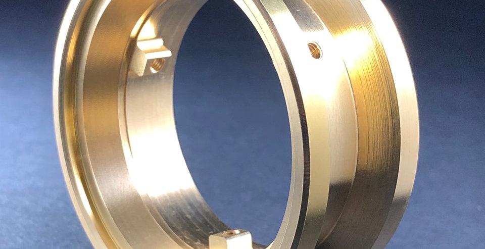 (1) Optional Brass Outer Ring for VariHub Wheels (3.5oz each)