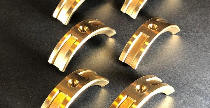 (2 Sets) Optional Brass Circumferential Weights - 5.5oz (2.7oz per wheel)