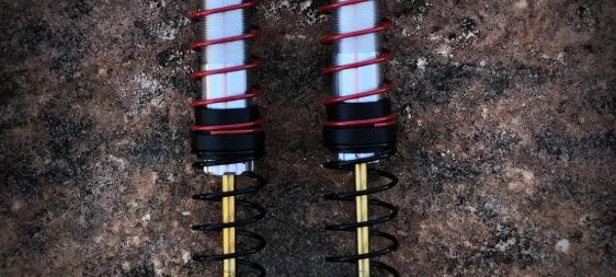 90mm Voodoo Scale Shocks (2 Prebuilt Shocks)