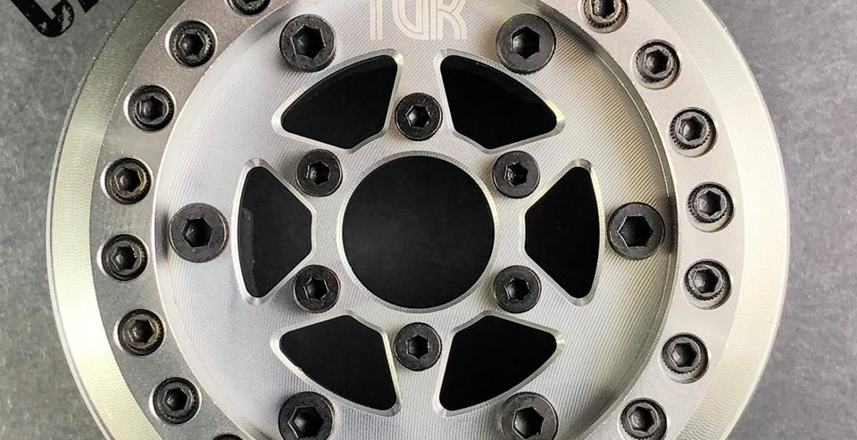 (2) 1.9 Voodoo VariHub Wheels - 'Capone' Design (2 wheels, hubs not included)