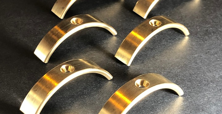 (2 Sets) Optional Brass Circumferential Weights - 2.4oz (1.2oz per wheel)