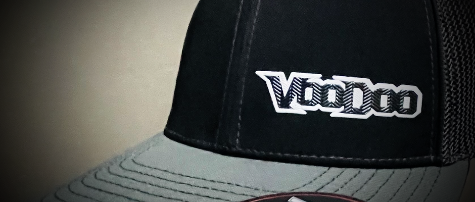 3D Voodoo Racing Logo Hat - Genuine FLEXFIT