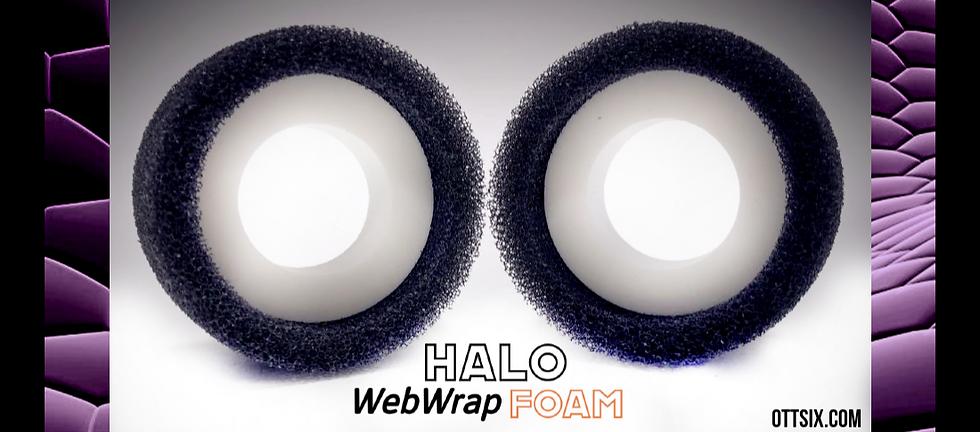 1.9 Standard Series HALO WebWrap Foams -  2 foam inserts