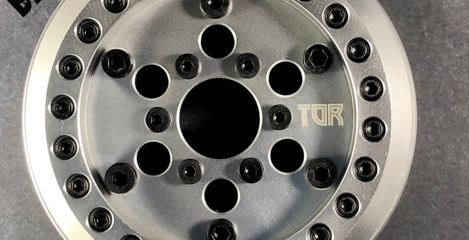 (2) 1.9 Voodoo VariHub Wheels - 'Baby Face' Design (2 wheels, hubs not included)
