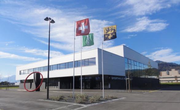 Sporthalle Bildstöckli Trainingsort