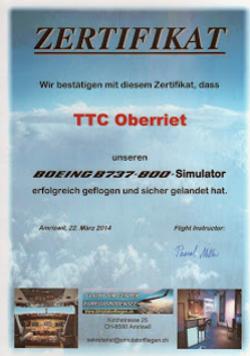 Simulatorfliegen TTCO Event 2014