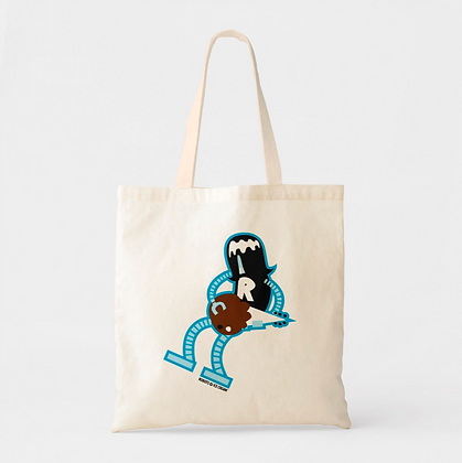 Rocky Road-Bot Tote