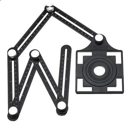Шаблон для разметки отверстий в плитке