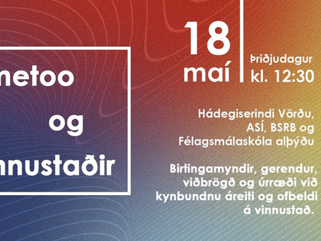#metoo og vinnustaðir