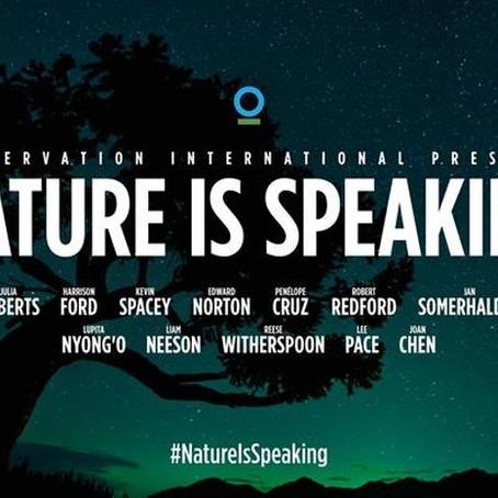 Nature is Speaking