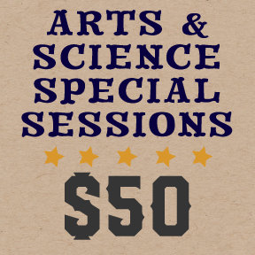 Virtual Paddle Raise - $50 Arts & Science Special Sessions