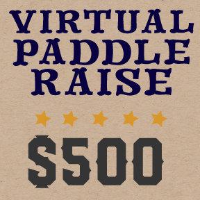 VIRTUAL PADDLE RAISE -$500