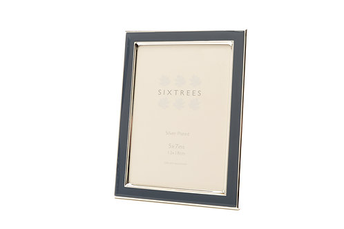 Kew Photo Frame with Blue colored enamel