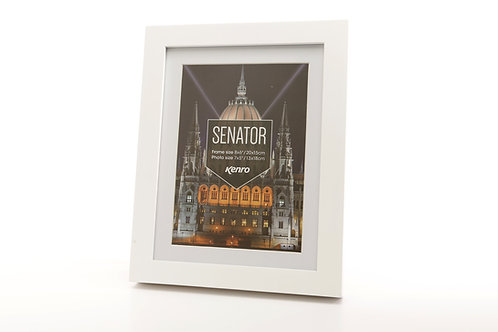 Kenro Senator white wooden photo frame